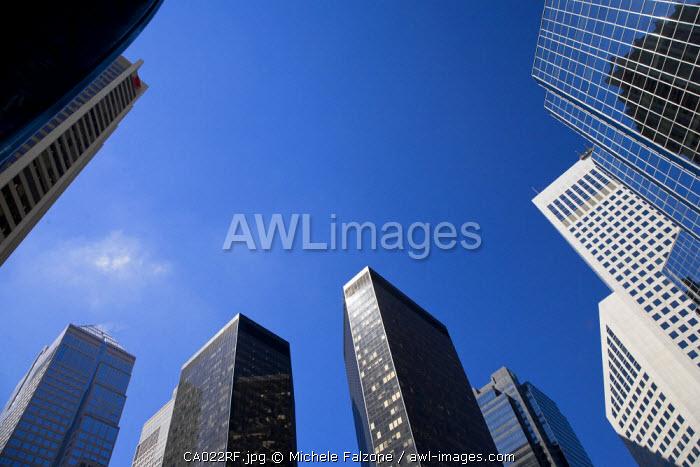 Skyscrapers, Downtown Calgary, Alberta, Canada