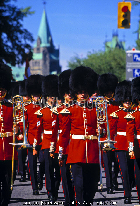 Changing of the Guard, Ottowa, Ontario, Canada