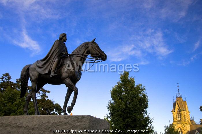 Statue of Queen Elizabeth II, Parliament Hill, Ottawa, Canada