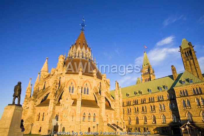 Library of Parliament, Parliament Hill, Ottawa, Canada