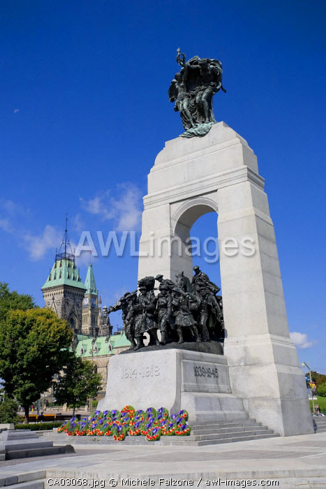 National War Memorial, Ottawa, Ontario, Canada