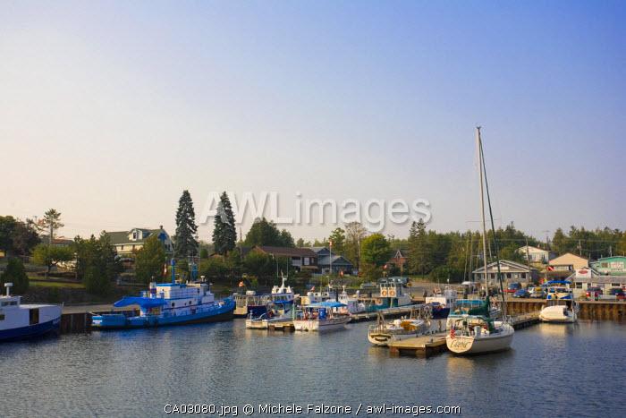 Tobermory Harbour, Georgian Bay, Lake Huron, Ontario, Canada