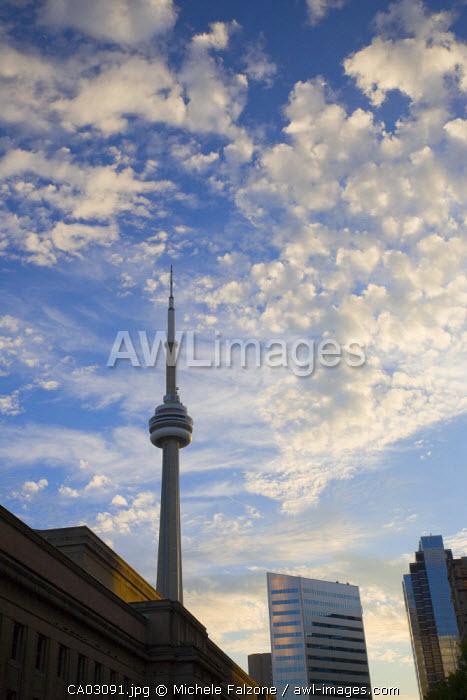 Skyscrapers, downtown Toronto, Ontario, Canada