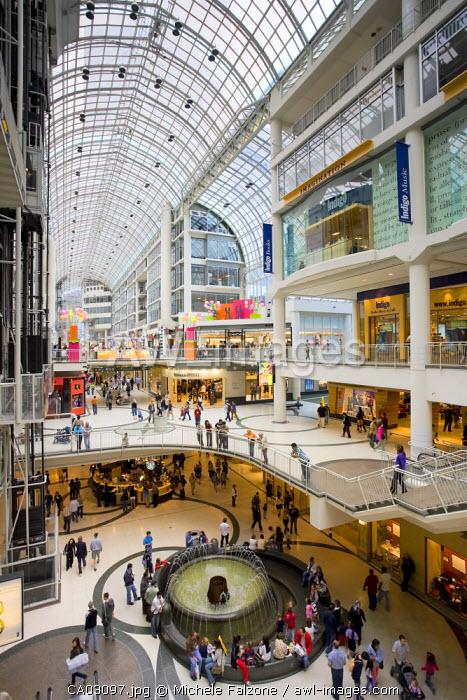 Eaton Centre, Toronto, Ontario,  Canada