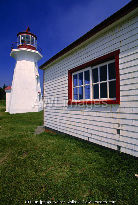Cap Gaspe Lighthouse, Quebec, Canada