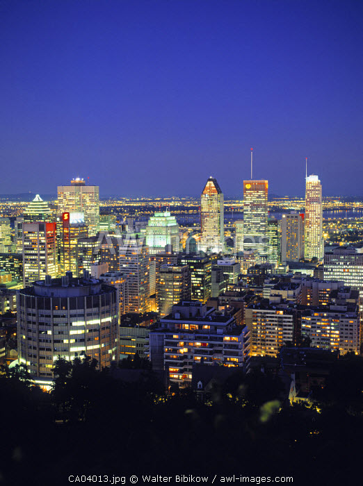 Montreal (fr. Mt. Royal), Quebec, Canada
