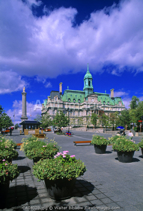 Hotel de Ville, Montreal, Quebec, Canada