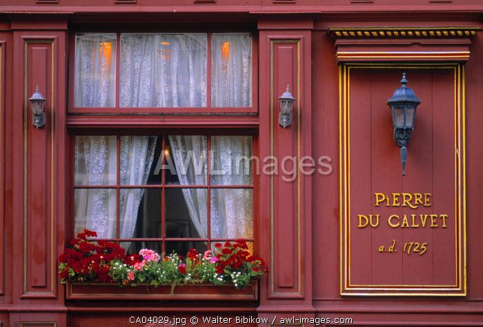 Maison de Calvet, Montreal, Quebec, Canada