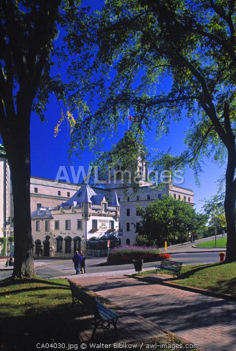 Place D'Armes, Quebec City, Quebec, Canada