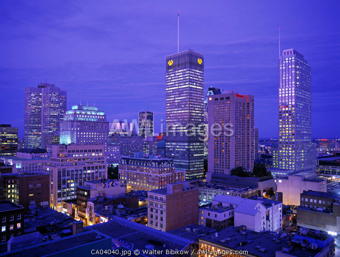 Downtown Montreal, Quebec, Canada
