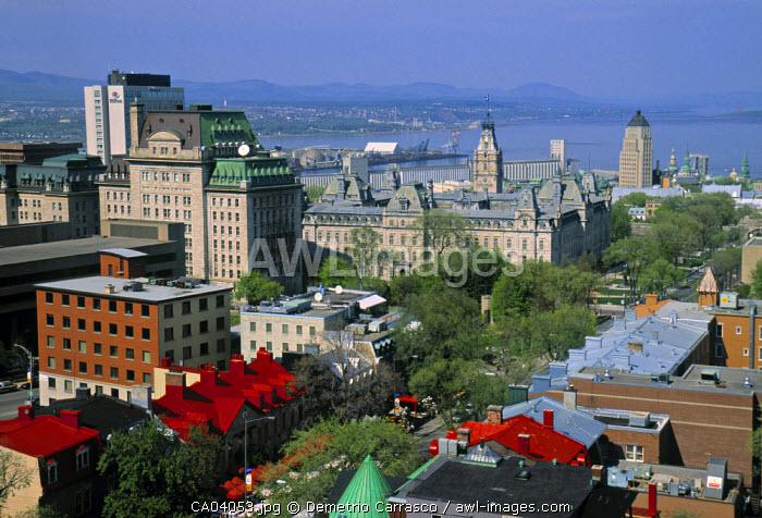 Downtown Quebec City, Quebec, Canada