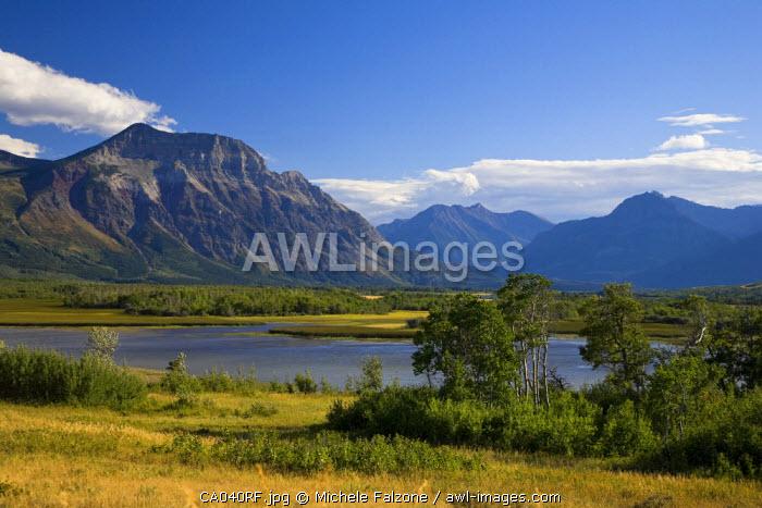 Maskinonge Lake, Waterton Lakes National Park, Alberta, Canada