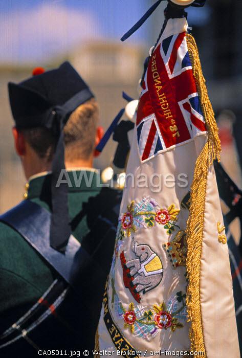 78th Highlanders, Halifax Citadel, Nova Scotia, Canada