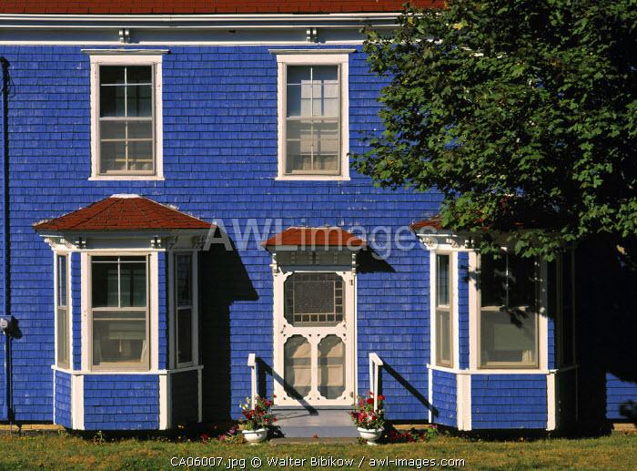 Blue House, Welshpool, Campobello Island, New Brunswick, Canada