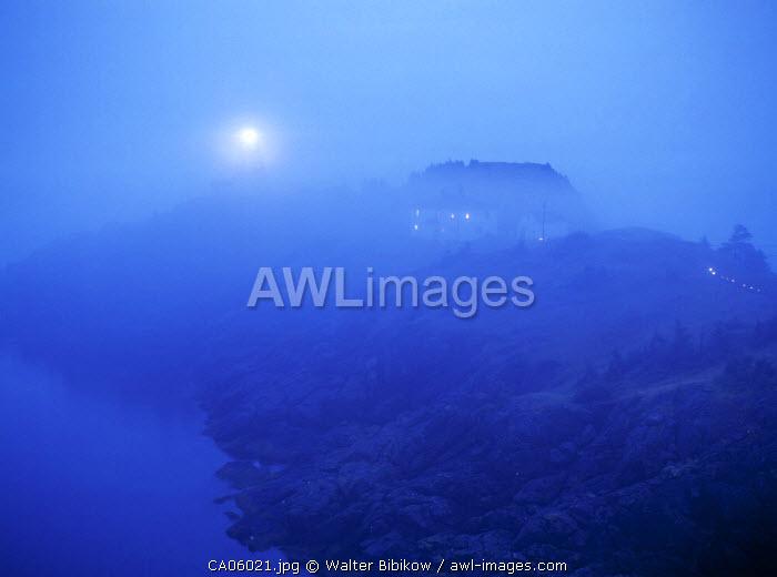 Swallowtail lighthouse, Grand Manan Island, New Brunswick, Canada