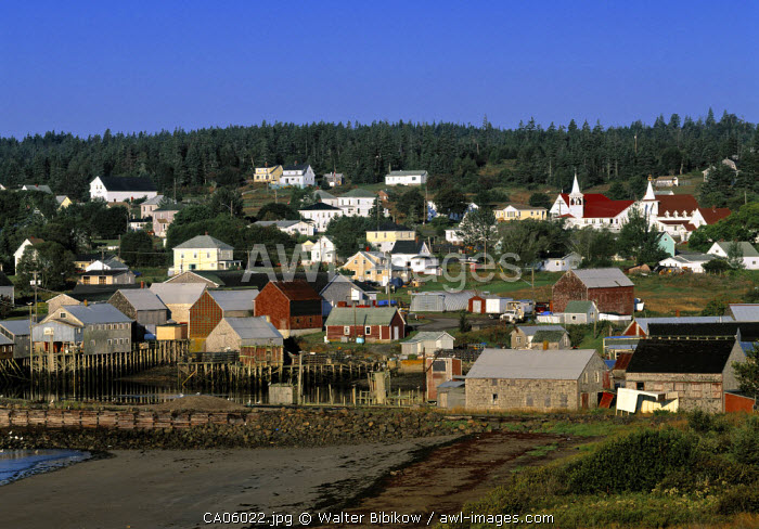 Seal Cove, Grand Manan Island, New Brunswick, Canada