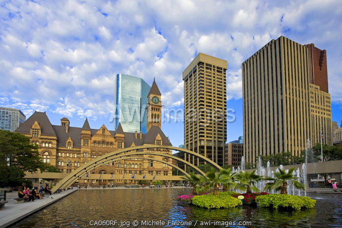 Nathan Phillips Square and Toronto City Hall, Toronto, Canada