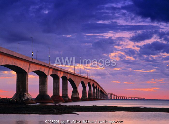 Confederation Bridge, Borden-Carleton, Prince Edward Island, Canada
