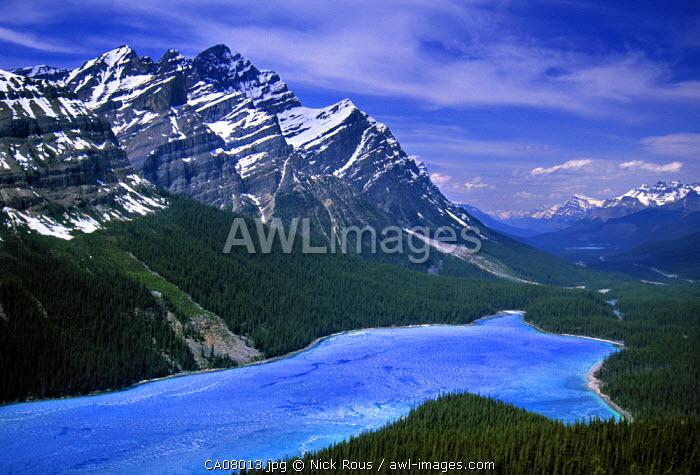 Peyto Lake, Banff NP, Alberta, Canada