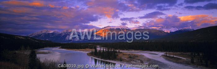Colin Range, Jasper NP, Alberta, Canada