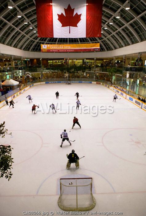Hockey Rink, West Edmonton Mall, Edmonton, Alberta, Canada