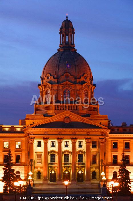 Alberta Provincial Legislature, Edmonton, Alberta, Canada
