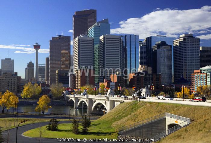 Centre Street Bridge, Calgary, Alberta, Canada