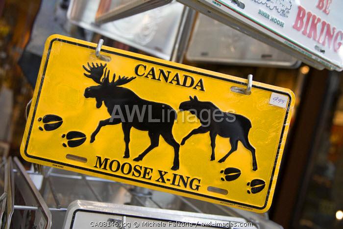 Souvenir shop, Downtown Calgary, Alberta, Canada