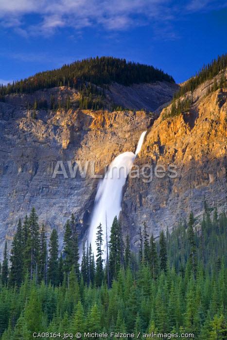 Takkakaw Falls, Yoho National Park, British Columbia, Canada