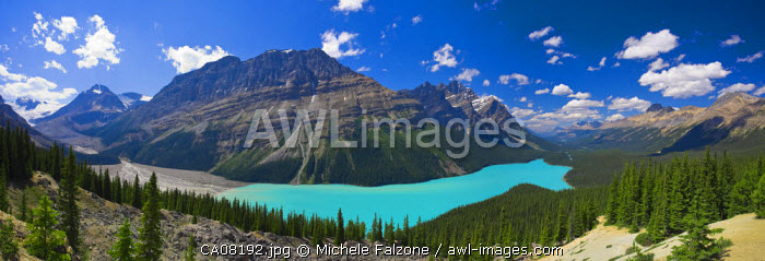 Peyto Lake, Icefields Parkway, Alberta, Canada