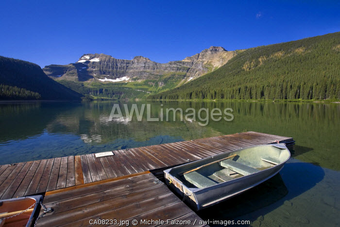 Cameron Lake, Waterton Lakes National Park, Alberta, Canada