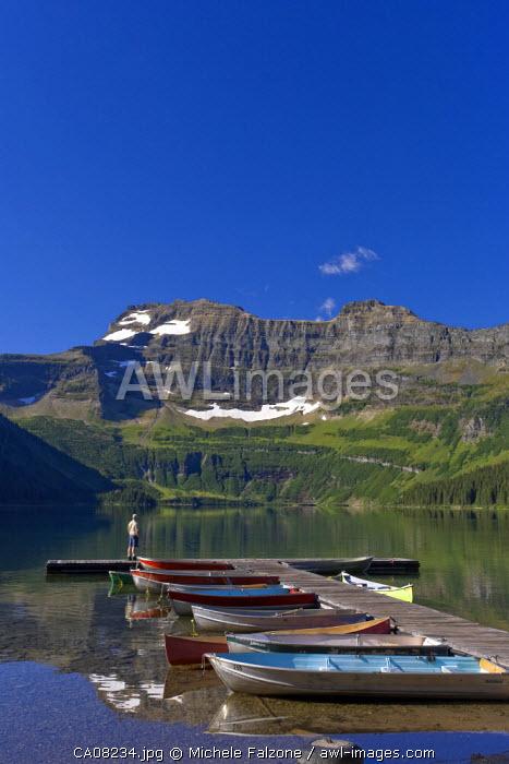 Cameron Lake, Waterton Lakes National Park, Alberta, Canada (MR)