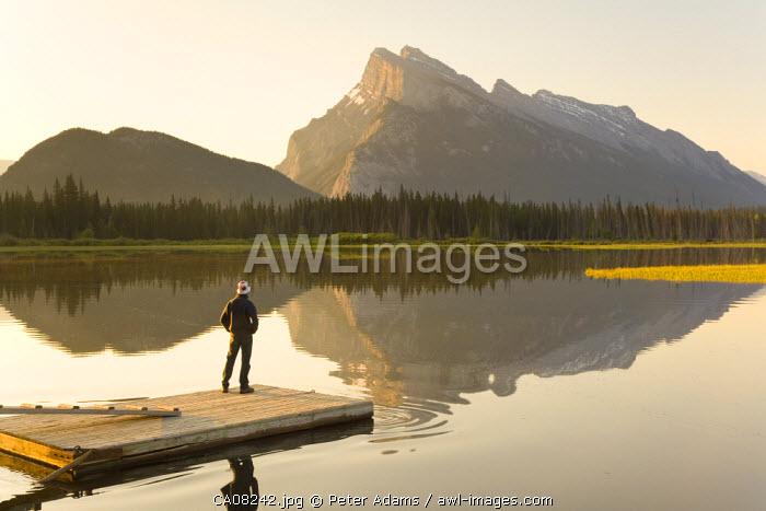 Vermillion Lake, Banff National Park, Alberta, Canada