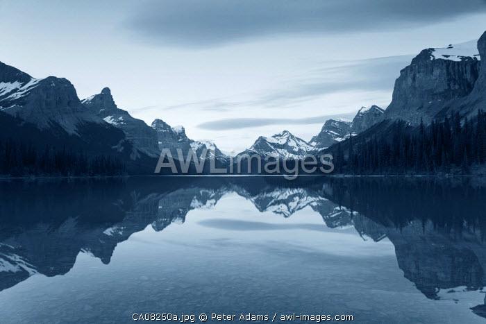 Lake Maligne, Jasper National Park, Alberta, Canada