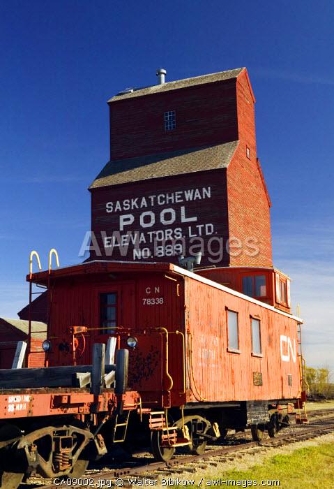 Grain Elevator, North Battleford, Saskatchewan, Canada