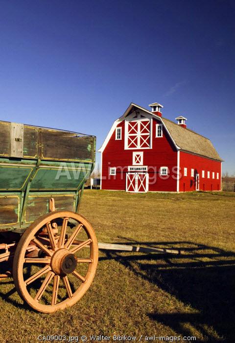Red Barn, North Battleford, Saskatchewan, Canada