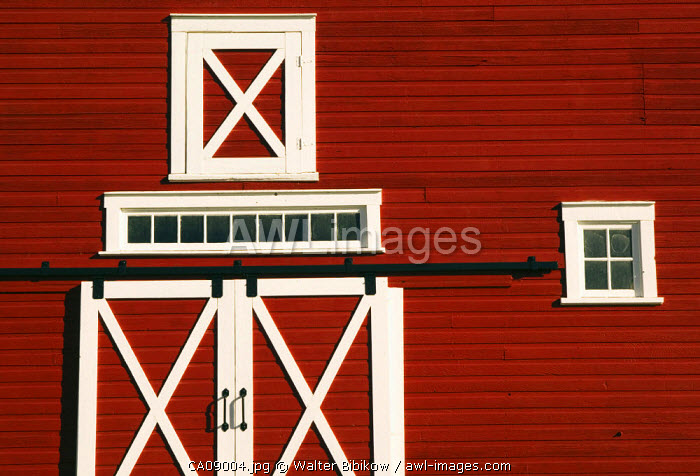 Red Barn, North Battleford, Saskatchewan, Canada