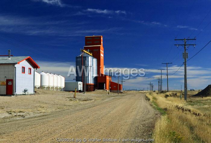 Grain Elevator, Morse, Saskatchewan, Canada