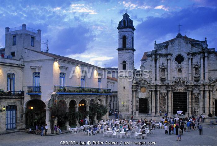 Cathedral Plaza, Havana, Cuba