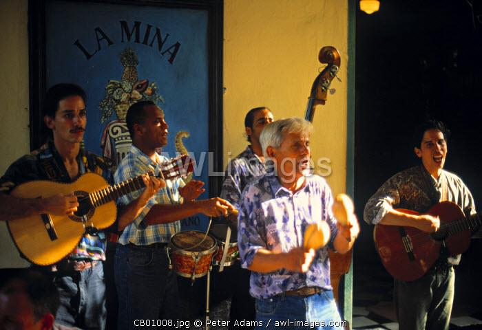 Street Musicians, Trinidad, Cuba