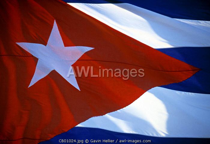 Cuban flag, Cuba