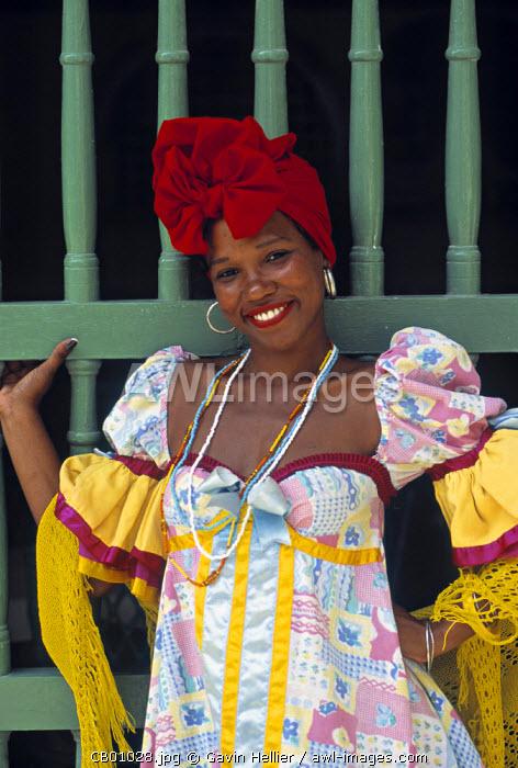 Portrait of Woman, Havana, Cuba