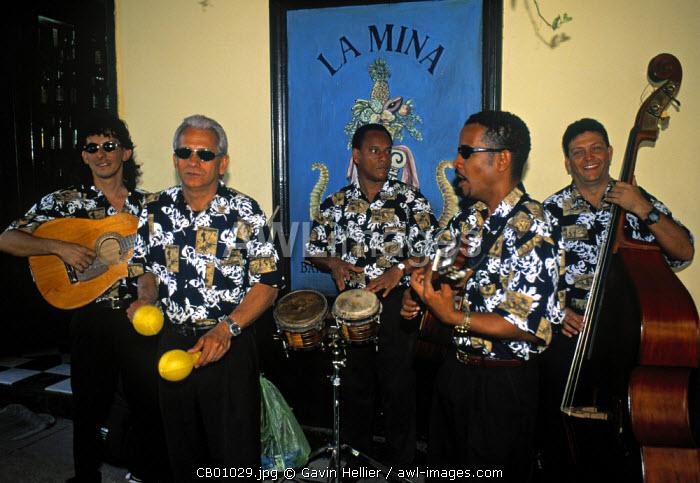 Salsa band, Havana, Cuba