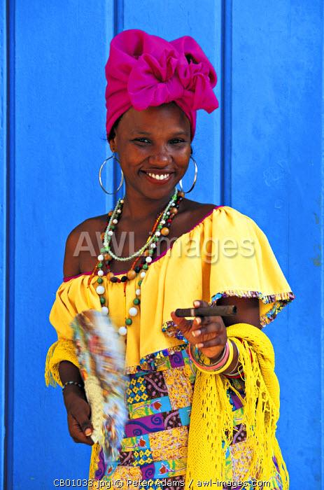 Woman, Havana, Cuba