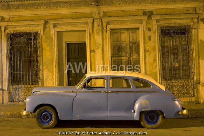1950s American car, Cienfuegos, Cuba