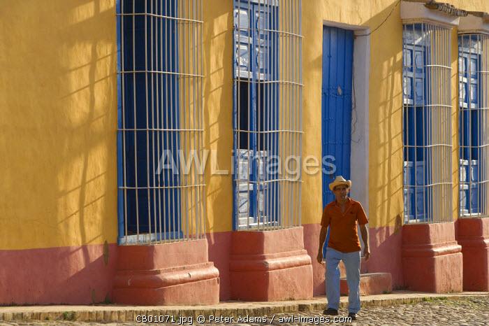 Street scene in Trinidad, Cuba