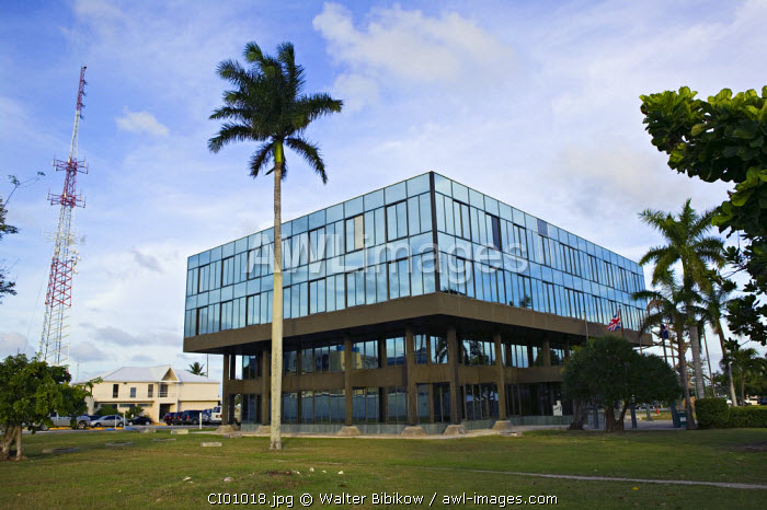 Government Administration Building, Georgetown, Grand Cayman, Cayman Islands, Caribbean