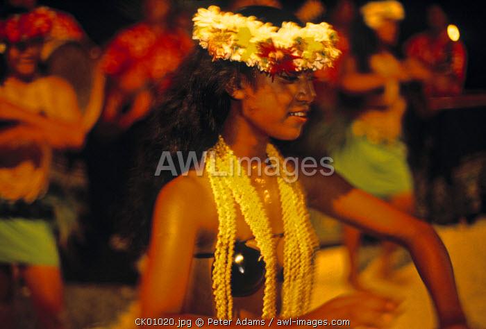 Dancers, Raratonga, Cook Islands