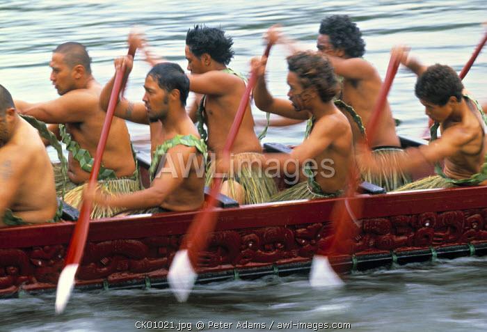 Maori Canoe, Raratonga, Cook Islands