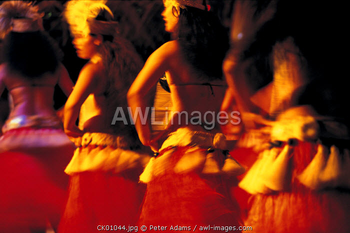Dancers on the Cook Islands